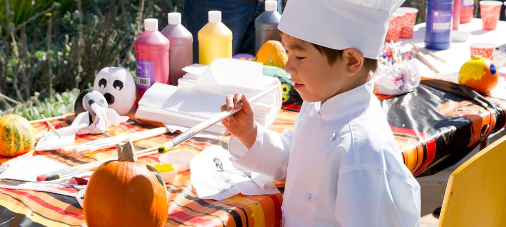 George Mark Children's House Pumpkin Day