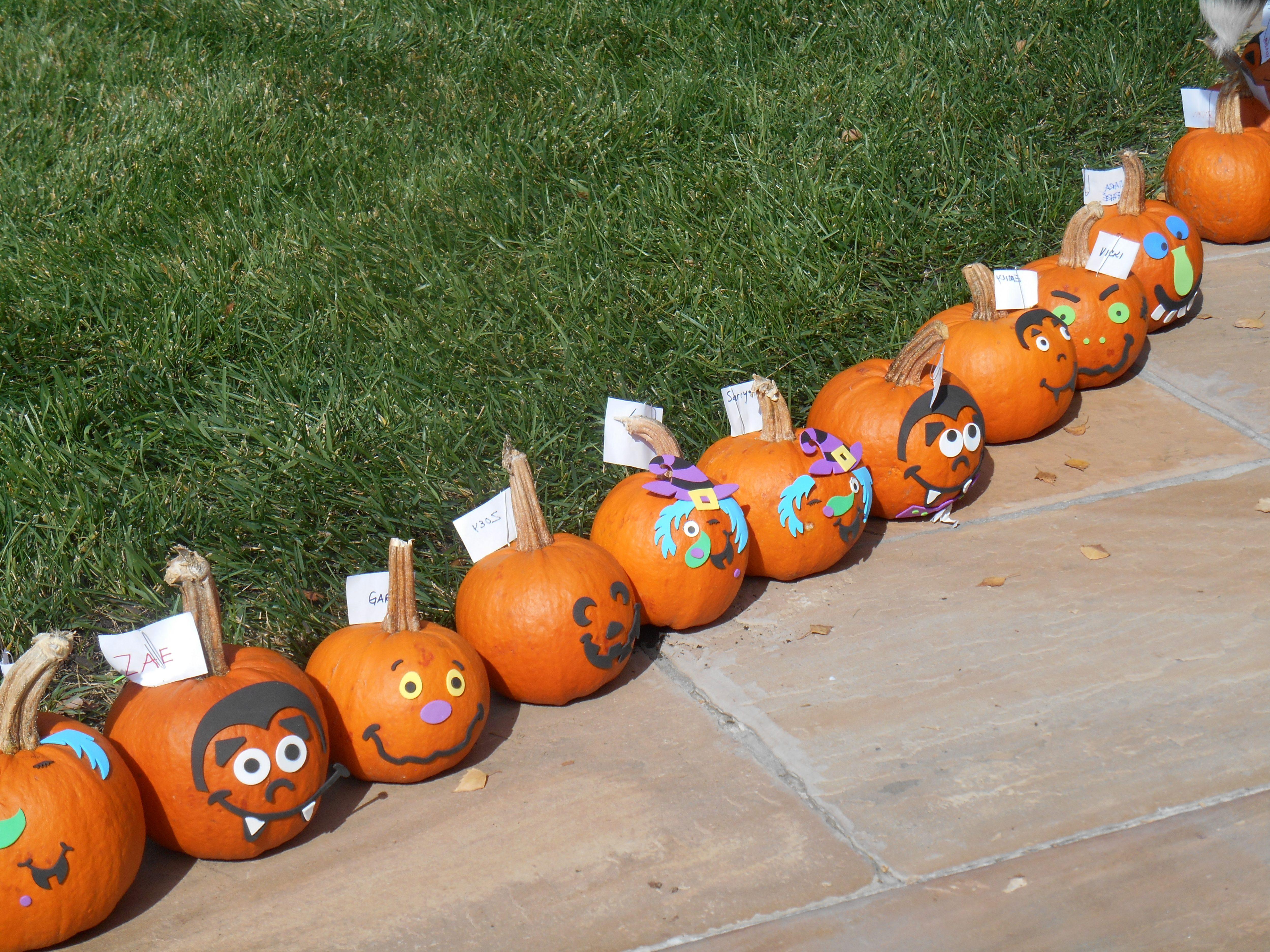 October 22, 2017 – Pumpkin Day