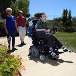 boy in wheelchair at george mark children's house