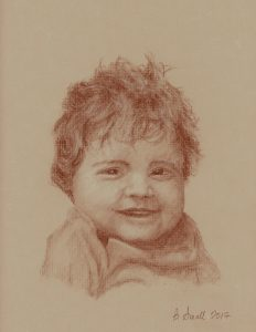 portrait of young child