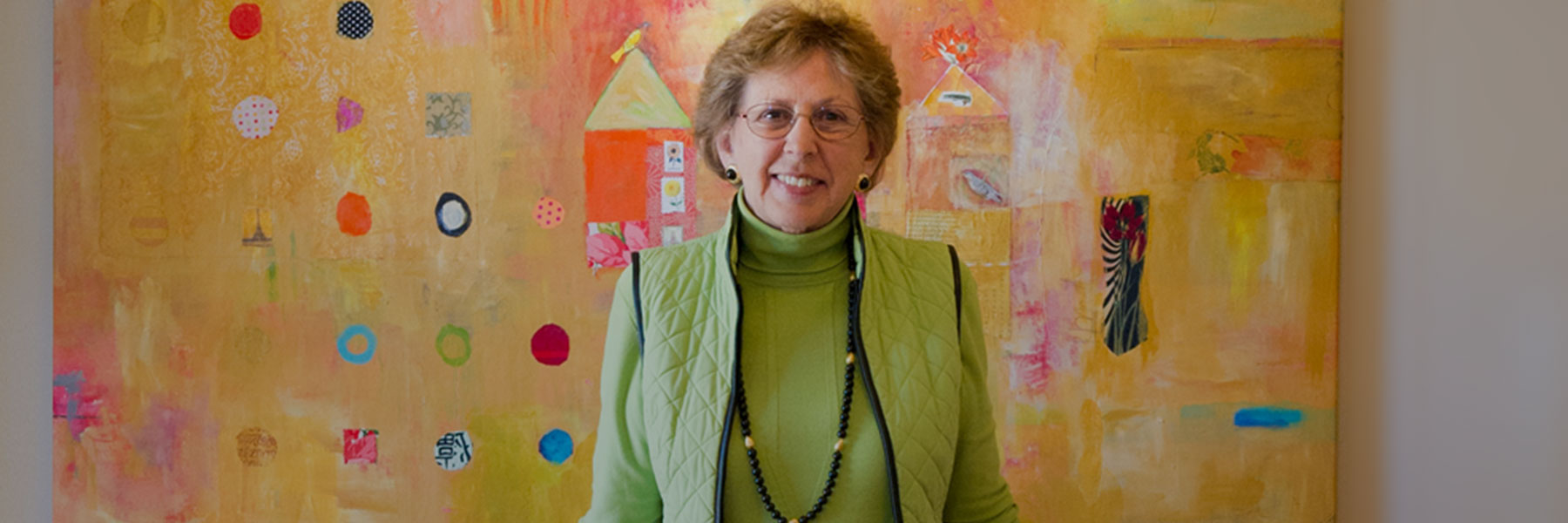 Kathy Hull at George Mark Children's House