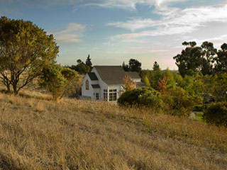 George Mark Children's House exterior hillside